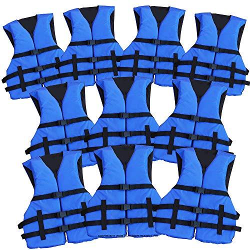 Hardcore Water Sports Adult Life Jacket PFD USCG Type III Universal Boating Ski Vest New