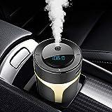 XQxiqi689sy Home Office Diffusore Auto Bluetooth FM Trasmettitore Aroma Humidifier Handsfree MP3 Player caricabatterie USB