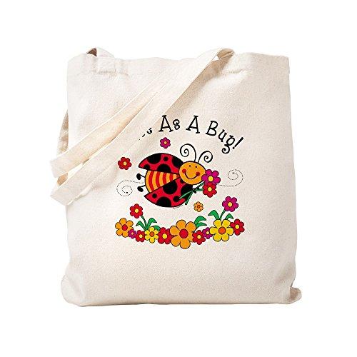 CafePress–Marienkäfer Cute As A Bug–Leinwand Natur Tasche, Reinigungstuch Einkaufstasche, canvas, khaki, S