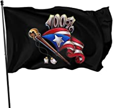 Memoirs- Puerto RICO Boricua Flags 3x5 Foot American US Polyester Flag USA Flags for Outdoor Indoor Home Decor