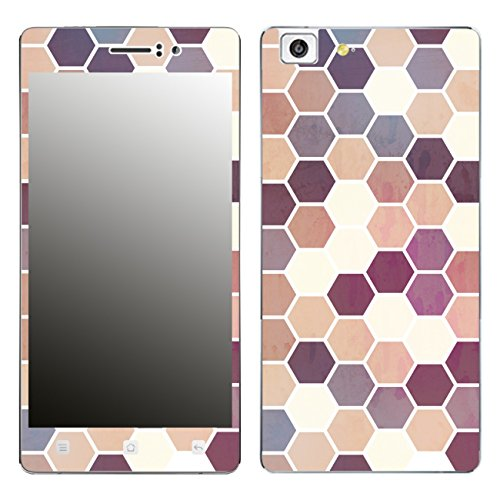 Disagu SF-106221_1208 Design Folie für Oppo R5 - Motiv Polygone 05
