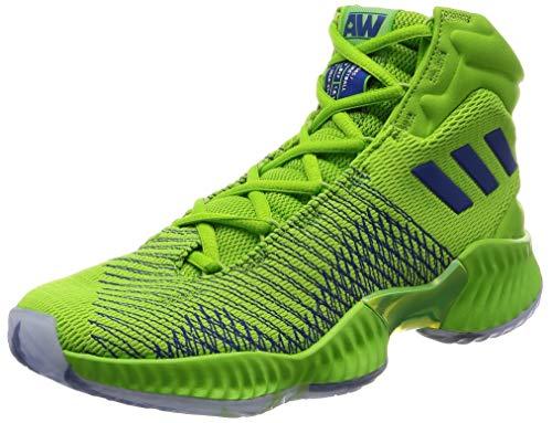 adidas Pro Bounce 2018, Zapatos de Baloncesto Hombre, Gris (Greone/Vagrme/Clowhi Greone/Vagrme/Clowhi), 50 EU