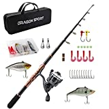 Best Telescopic Fishing Rods - Telescopic Fishing Rod and Reel Combos Full Kit Review