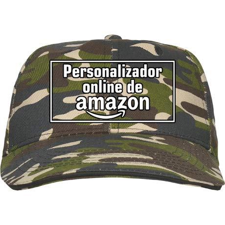 QCM Gorra Militar Personalizada · Gorra Hombre Militar · Personalizable · Unixex · 100% Algodón