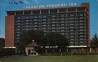 Sheraton-Foxhead Inn Niagara Falls, Canada Original Vintage Postcard