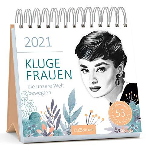 Postkartenkalender Kluge Frauen 2021