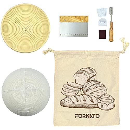 cesta fermentacion pan de la marca FORNATO