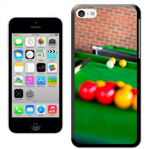 Harde beschermhoes Marlon in de achterkant geschikt voor iPhone, iPhone 5C, Ballenbad met rode en gele ballen.