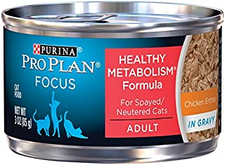 Purina Pro Plan Focus Healthy Metabolism Adult Canned Wet Cat Food