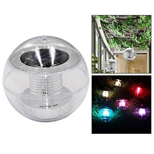 OFKPO LED Solarlampe,Solar Unterwasser Lampe/Schwimmende Licht für Garten,Baum,Teich