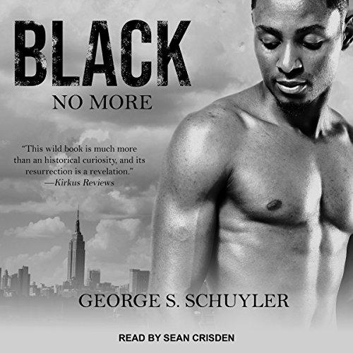 Black No More audiobook cover art