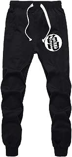 Men Funny Print Dragon Ball Goku Cotton Joggers Plus Size Trouser Pants