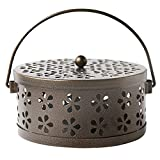 ROOCHL Mosquito Coil Holder, Retro Portable Mosquito Incense Burner for Home and Camping