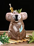 Copa de vino 750 ml Oso de koala Hawaii Tazas de Tiki del cóctel taza de la bebida de la cerveza taza de la taza del vidrio de vino isleño de Pascua de cerámica Tazas de Tiki barra de herramientas del