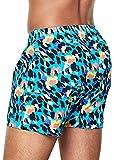 Happy Socks Leopard Boxer, Multicolor (Multicolour 670), XX-Large para Hombre