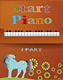 Start Piano PDF: Easy piano notes for beginners (English Edition)