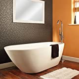 Hudson Reed Vasca da Bagno Freestanding - Acrilico Bianco - Design Centro Stanza Ovale - 1...