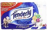 Tenderly - Carta, Triple Plus, 4 Rotoli (Salute e Bellezza)