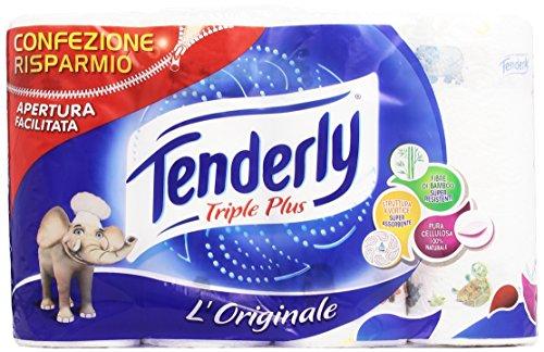 Tenderly - Carta, Triple Plus, 4 Rotoli