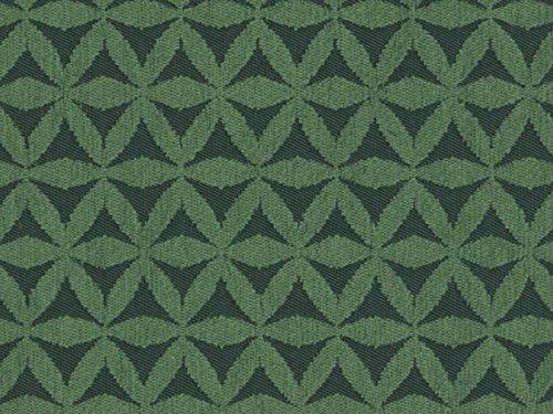 Landhausstil Möbelstoff Isola di Flora Farbe 870 (grün, dunkelgrün, hellgrün) - Flachgewebe (Floral, Geometrisch), Polsterstoff, Stoff, Bezugsstoff, Eckbank, Couch, Sessel, Hussen, Kissen