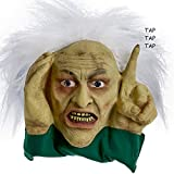 Scary Peeper Tapping Hag - Halloween Animated Decoration Prank with Creepy Face, Taps on Window - Funny Motion Activated Gag Prop for Haunted House