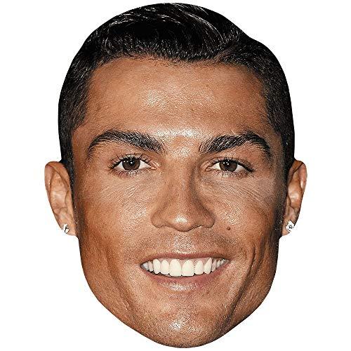 Celebrity Cutouts Cristiano Ronaldo (Smile) Maske aus Karton