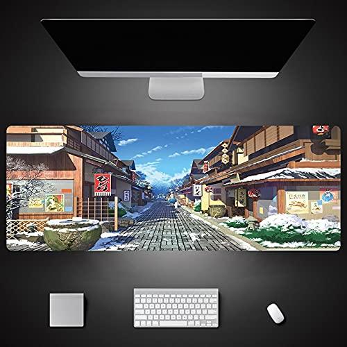 Cartoon Print Rubber Gaming Mouse Pad Xxl Large Keyboard Mouse Mat Laptop...