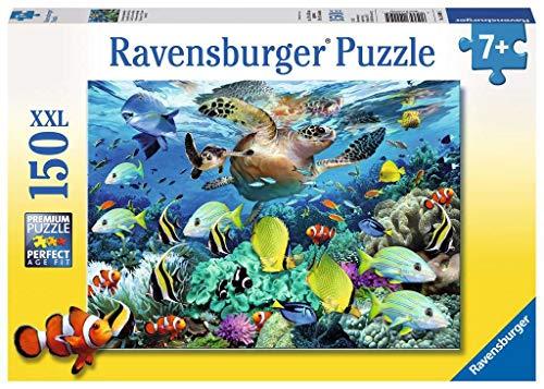 Ravensburger Kinderpuzzle - 10009 Unterwasserparadies - Unterwasserwelt-Puzzle für Kinder ab 7 Jahren, mit 150 Teilen im XXL-Format