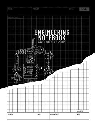 Engineering Notebook Graph Paper 0,25