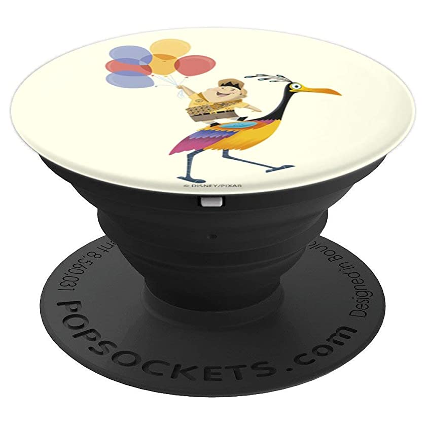 Disney Pixar Up Kevin And Russell With Balloons - PopSockets Grip and Stand for Phones and Tablets
