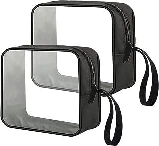 1 quart sized clear plastic zip top bag