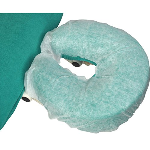100 stuks. Standaard papieren vlies-overtrekken voor hoofdsteunen, hygiënecoating voor de hoofdsteun van standaard massagestoelen, wegwerpbekleding