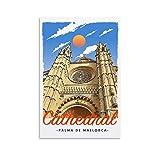 EWRW Palma De Mallorca Kathedrale Retro Vintage Reise