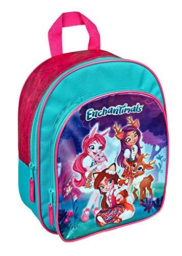 Undercover Rucksack mit Vortasche, Enchantimals ca. 31 x 25 10 cm Mochila infantil, cm, 6 liters, Rosa (Pink)