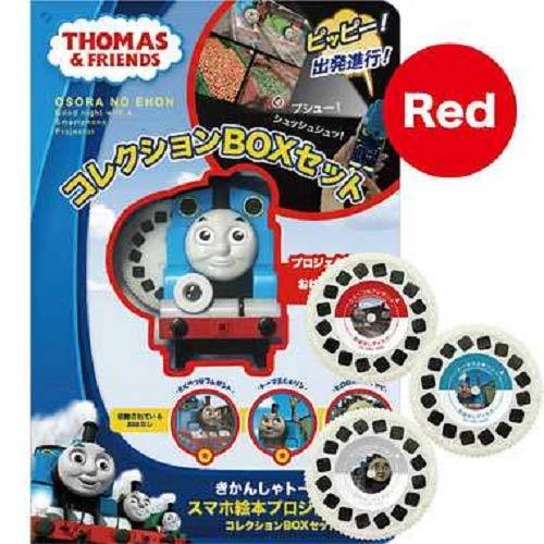 トーマス コレクションBOXセット レッド (本体+絵本3枚付) O2-KWD-0007