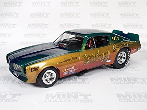 Auto World 1970 Pontiac Firebird Don Gay Funny Car 1 18 Scale Die-cast by Auto World