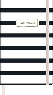 Caderno Costurado Grande Bullet Journal Pontilhado West Village - Tilibra