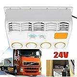 DIFU - Aire acondicionado para coche, refrigerador de aire, portátil, para camiones, caravanas, excavadoras (24 V)