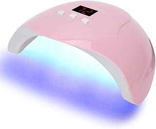 Nail Art Light, 54W LED UV Nail Art Curing Light Manicure Light Secador de esmalte de uñas en gel con 3 temporizadores para geles Pulidores Lámpara de uñas de curado con luz de uñas