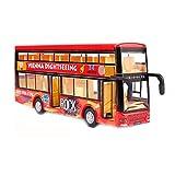 Black Temptation Roter Kinderspielzeug-Auto-Spielzeug-Bus mit Licht und Soundeffekten -