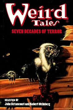 Hardcover Weird Tales: Seven Decades of Terror Book