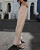 The Drop x Leonie Hanne: Seidenhose, hohe Taille & weites Bein