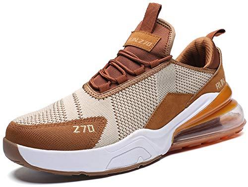 GJRRX Zapatillas Running para Hombre Aire Libre y Deporte Transpirables Casual Zapatos Gimnasio Correr Sneakers 39-44