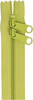 """ByAnnie Double Slide Zipper, 30"""", Apple Green"""
