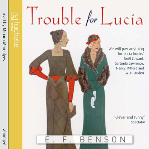 Trouble for Lucia audiobook cover art