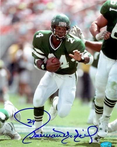 Autograph Warehouse 80399 Freeman Mcneil 8 Very popular Autographed x 10 Phot Max 61% OFF