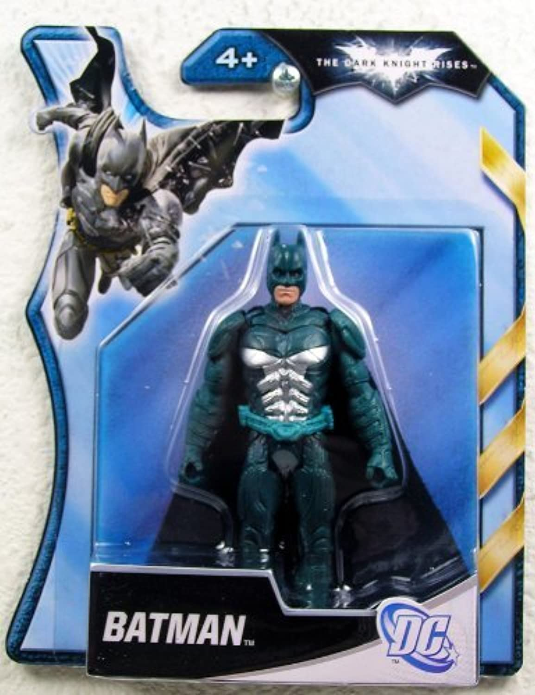 Batman - The Dark Knight Rises - Silber & Blau Batman 4 Inch Figure by Mattel