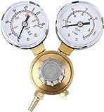 ROXTAK Druckminderer MINI Druckregler CO2/Argon Druckminderer Druckregler Argon mit Manometer, Schutzgas Gasschweißregler Schweißgerät zu MIG MAG TIG