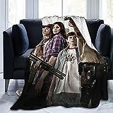 Manta de tiro The Walking Dead, Super Soft Cooling Throw Manta ligera difusa para cama sofá viaje personalizado