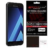 TECHGEAR [5 Pack] Protection d'Écran pour Galaxy A5 2017, Film de Protection Ultra Clair avec...